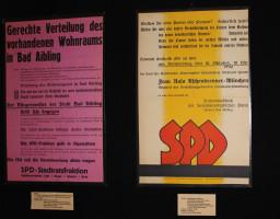 u.a. Plakate zum Wahlkampf der Frauen