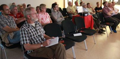 ..die Geschichte unseres Ortsvereins fand großes Interesse