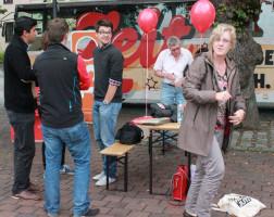 ..tolle Idee mit dem Juso-bus - Wahlkampftour durch ganz Deutschland bis zum 22.09.