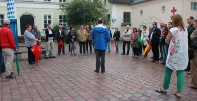 """""""Auf den Spuren der SPD in Kolbermoor"""" mit Bürgermeister Peter Kloo"""