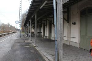 ... der Bahnhof - viel Arbeit für die Zukunft