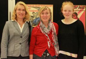 ..bei uns zu Gast - die Töchter von Georg Pertl, ehemaliger Genosse unseres Ortsvereins