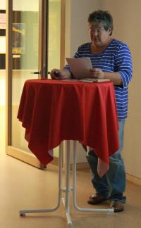 am 22.August - die Geschichte der SPD in Kolbermoor - vorgetragen von Dagmar Levin