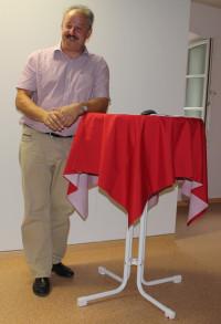 unser Bürgermeister Peter Kloo bei seinem historischen Rückblick auf 150 Jahre Kolbermoor